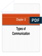 Chapter -3 Types of Communication 2