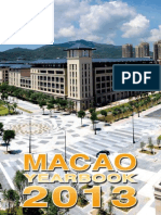 2013 Macao Yearbook of Statistics