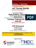 HIV and Young Adults lecture
