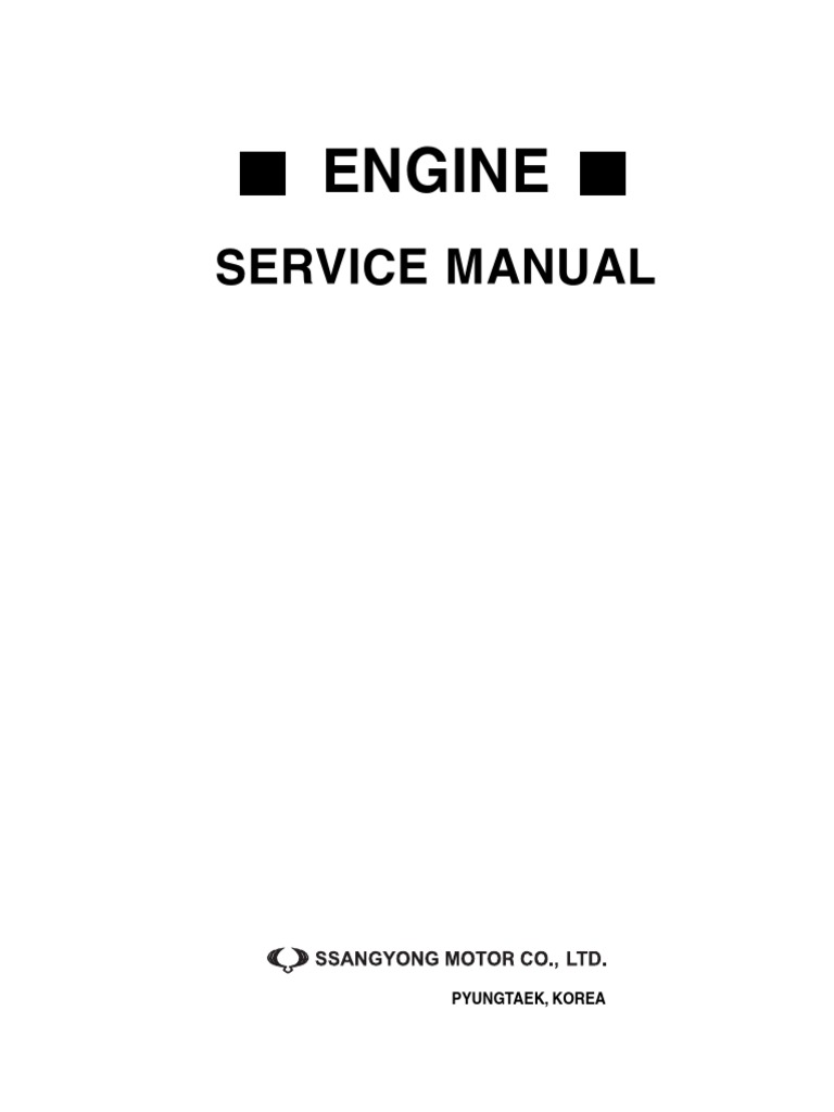 Rexton Service Manual Engine Turbocharger Internal Combustion Daewoo Korando Outside Mirror Schematic And Routing Diagram