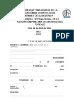 i Congreso Internacional de Aofs y Apofor