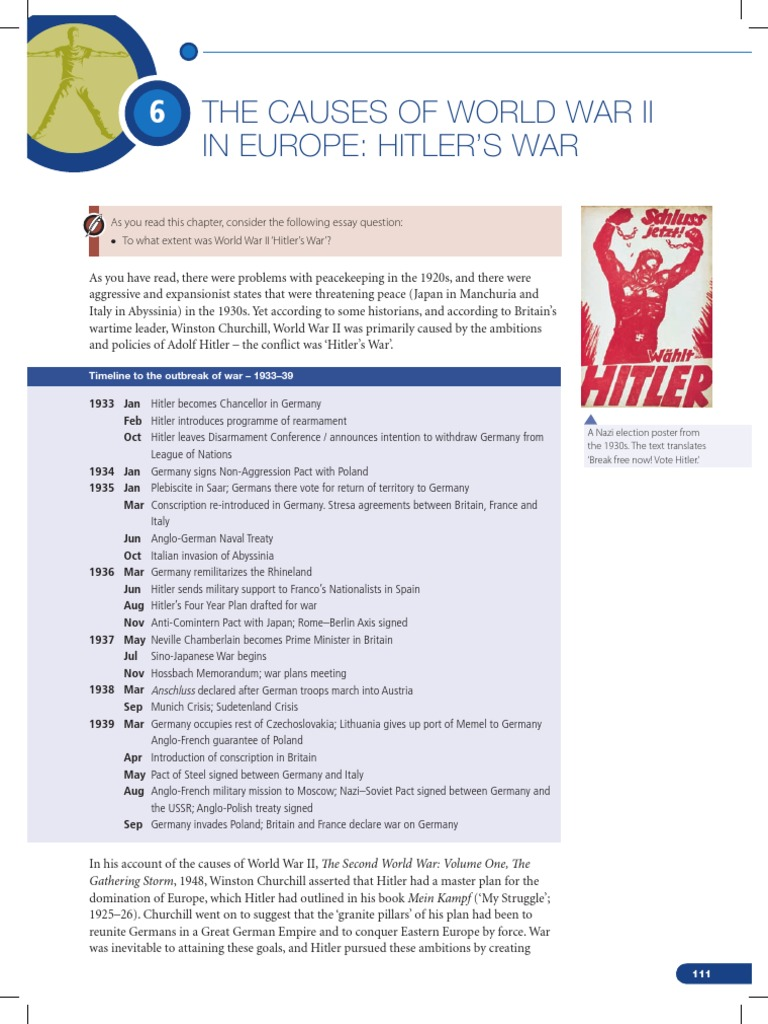 history causes practices and effects of wars chapter adolf  history causes practices and effects of wars chapter 6 adolf hitler nazi