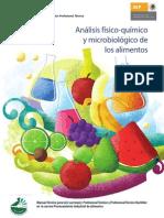 Analisis Fisico Quimico y Microbiologico de Los Alimentos