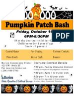 Pumpkin Patch Bash 2009