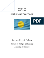 2012 Republic of Palau Statistical Yearbook
