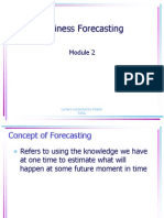 Business Forecasting Mod. 2
