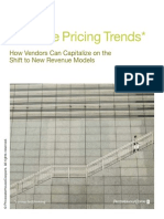 Software Pricing Trends