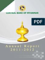 CBM Manual Report 2011 to 2012