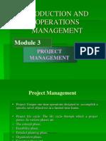 Project Mgt Mod 3