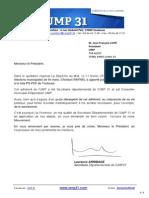 Lettre à Jean-François Copé