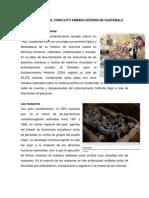 Consecuencias Del Conflicto Armado Interno de Guatemal1