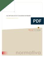 Ley Del Suelo Comunidad de Madrid
