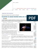 Cuando la salud mental entra en crisis _ Reportajes _ SINC - Servicio de Información y Noticias Científicas