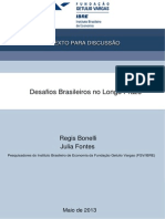 Desafios Brasileiros No Longo Prazo - 28-05-2013