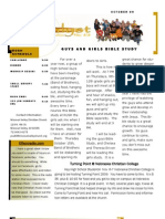 Newsletter Oct09