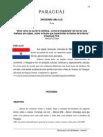 APOSTILA PARAGUAY - CULTO DE MISSÕES