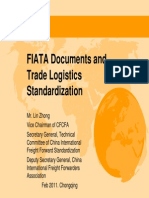 FIATA Documents and Trade Logistics Standardization