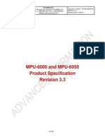 MPU-6000 and MPU-6050 Datasheet
