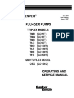 Production & Industrial Pumps Operating & Service Manual