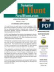 February 2014 Newsletter from Senator Neal Hunt