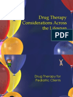 Drug Therapy Considerations Across the Lifespan