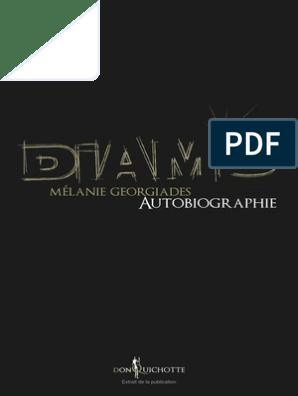 PDF AUTOBIOGRAPHIE TÉLÉCHARGER GRATUITEMENT DIAMS