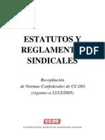 Estatutos y Reglamentos Sindicales