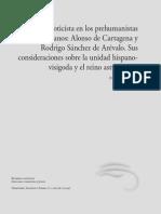 La ideología goticista en los prehumanistas castellanos (J. Villa Prieto)