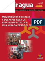 URAN 2013 - Revista La Piragua CEEAL Movimientos Sociales y Educación Popular