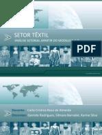 SETOR TÊXTIL, SLIDE, GRUPO 1