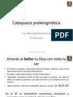 Bienaventuranzas y El Diezmo