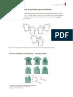 Como Customizar Sua Camiseta Feminina