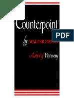 Walter Piston Counterpoint