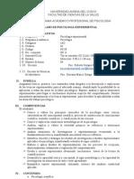 Psicologia Experimental 2009-II