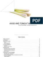 Axis2 and Tomcat Manager