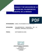 Proyecto Remodelacion Polideportivo La Murada