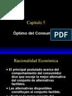 Capitulo 5, Optimo Del or