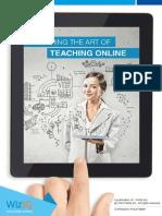 Mastering the Art of Teaching Online