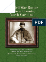Davie Cty, N.carolina Civil War Roster