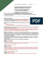 ESC 101 Corrige Examen 02-09