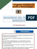 Presentacion Seguridad Del Paciente Quirurgico