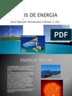 Trabajo 14 Tipos de Energia