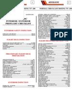 Listas de Chequeo 737-200