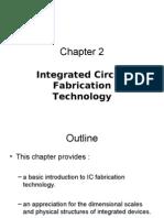 Chapter 2 IC-Fabrication