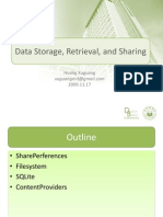 Lesson 3 Data Storage and Retrieving