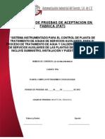 88760474 Protocolo FAT Tratamiento Agua 09-01-12 1