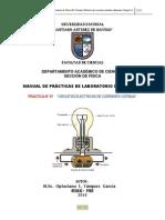 INFORME DE PRACTICA DE LABORATORIO N° 06 FISICA III 2010