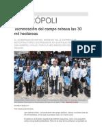 17-05-2013 Síntesis Metrópoli - Tecnificación del campo rebasa las 30 mil hectáreas.pdf