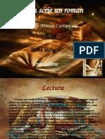 Florin Scrie Un Roman Power Point Prezentare Gupa Galbena