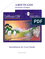 CellRoute GPRS Manual